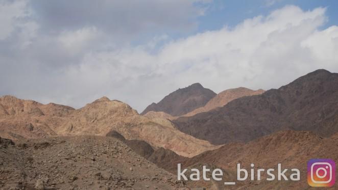 Пустыня в Египте, Шарм-эль-Шейх