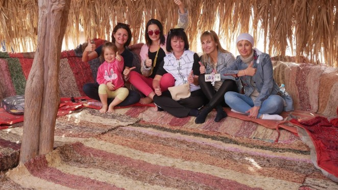 Бедуинская деревня, Египет