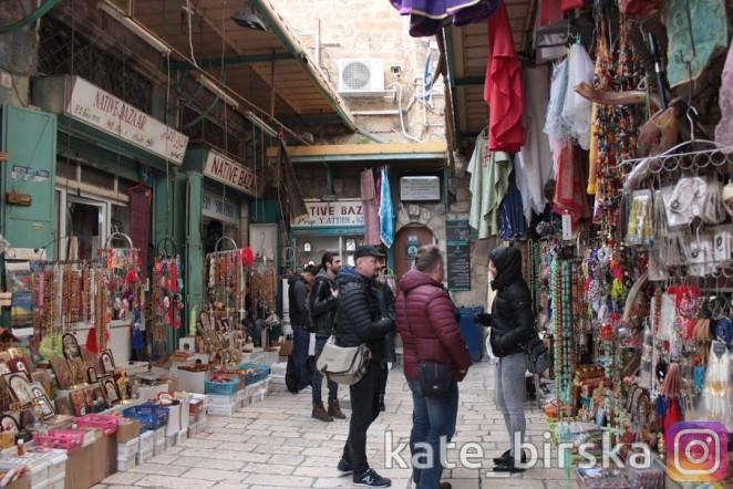 Рынок в Иерусалиме