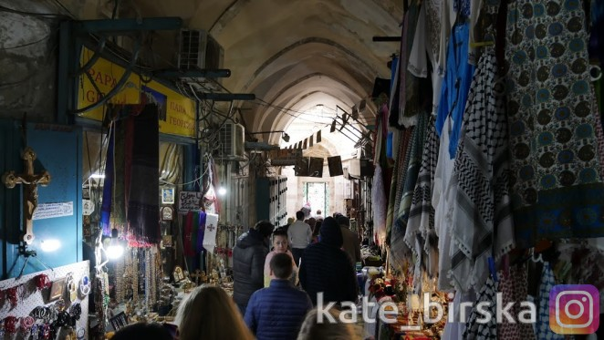 Базар в Иерусалиме