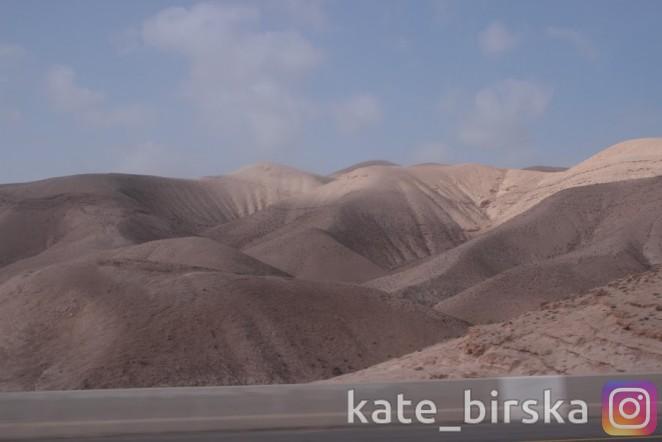 Пустыня в Израиле
