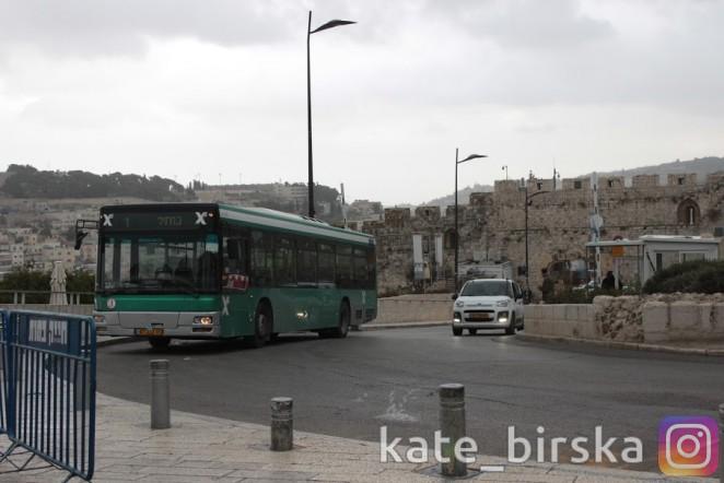 Из Иерусалима к Стене Плача