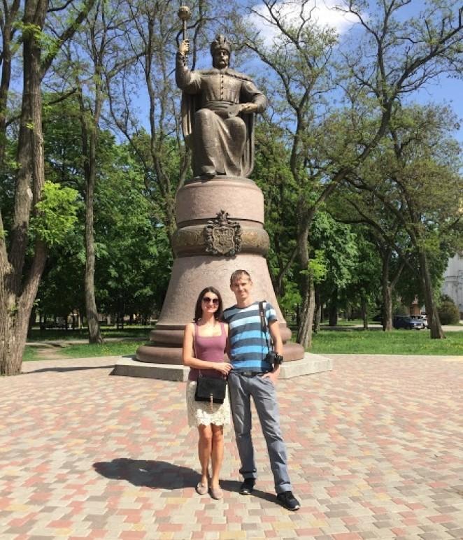 Памятник Ивану Мазепе, Полтава