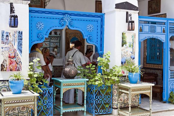 Сиди бу Саид, Тунис