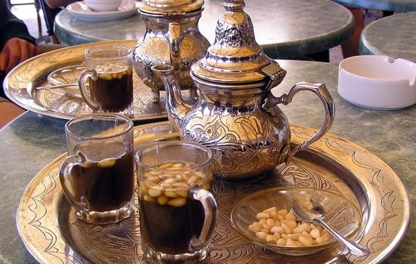 Чай с кедровыми орешками