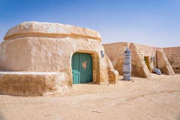 Место съемок фильма Звездные войны, Тунис