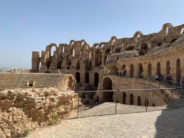 Амфитеатр Эль-Джем, Тунис
