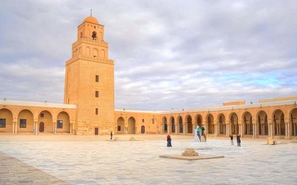 Большая мечеть Кайруана, Тунис