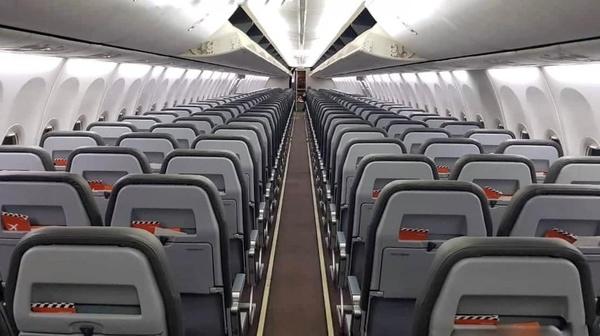 Самолет SkyUP, Терминал F, Борисполь