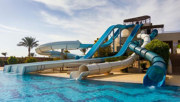 Аквапарк в отеле Джаз Дар эдб Мадина