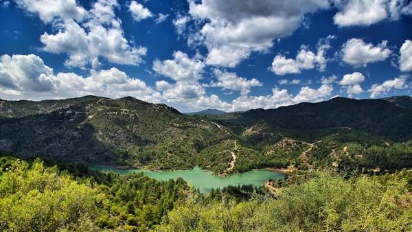 Горы Троодос, Кипр